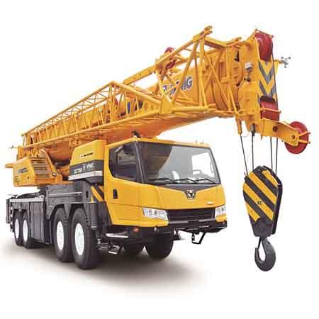 XCMG 100 ton folding mobile truck crane XCT100 from China
